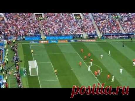 Испания   Россия  1 1 Гол   Артем Дзюба нанес точный удар с 11 метровой отметки!видео