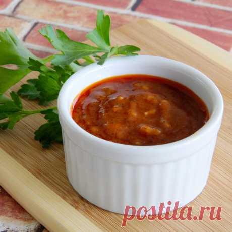 Острый чесночный соус