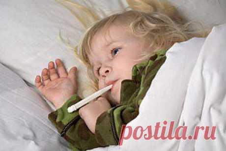 (+1) тема - Как по температуре ребенка понять, чем может быть болен твой малыш.   Среда обитания