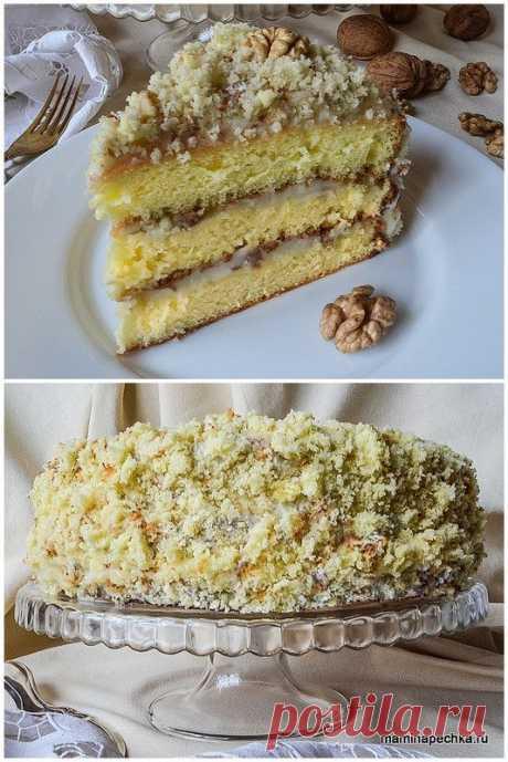 Бабушкин торт  Рецепт этого бисквитного домашнего торта передаётся от мамы к дочке уже на протяжении четырёх поколений. Его пекла моя бабушка, её сёстры, их дети, внуки и правнуки. Его вкус знают с детства все член…