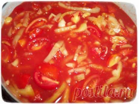 """Салат из сладкого перца с помидорами в томатном соусе. - запись пользователя DэSH]{а ツ (pilipenkoalena) в сообществе ஐ๑♥●••˙ """"Алёнкина кухня"""" в категории Консервирование - Babyblog.ru"""