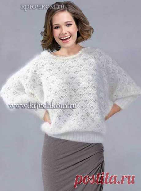 Вязание-крючок-Джемпера и Пуловеры