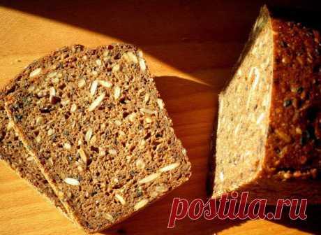 Зерновой хлеб без дрожжей