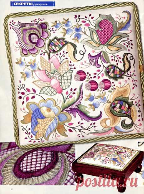 крюил - якобинская вышивка | Записи в рубрике крюил - якобинская вышивка | Дневник Лютик65