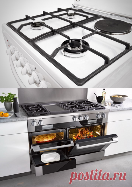 Комбинированные газовые плиты: газоэлектрические кухонные панели
