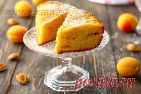 Пирог «Восхитительный» с сочными абрикосами или другими фруктами