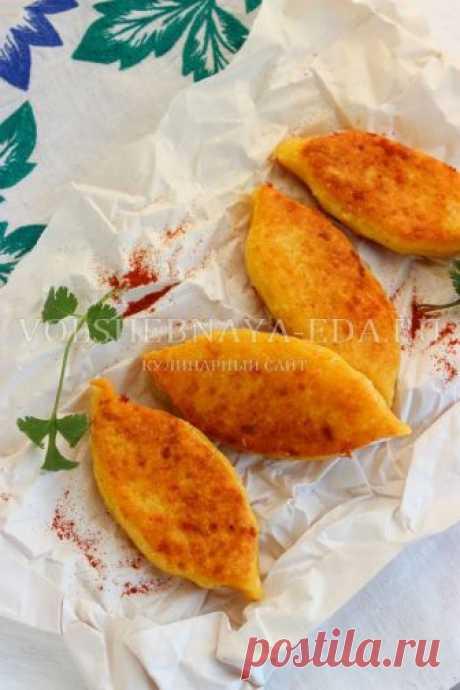 Чвиштари - кукурузные лепешки с сыром | Волшебная Eда.ру