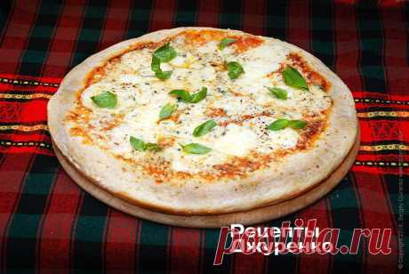 Пицца 4 сыра.