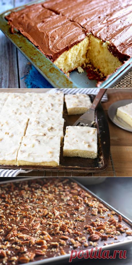 Американский пирог: 3 рецепта техасского бисквита » Notagram.ru