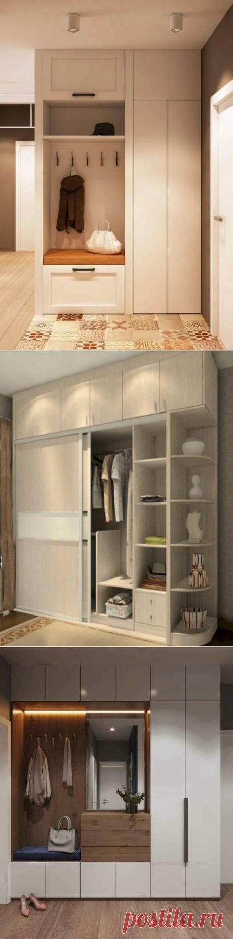 Шкаф в прихожую. Дизайн и оснащение. 17 важных рекомендаций | Дизайн и Культура | Яндекс Дзен