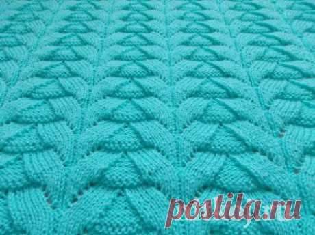 Рельефный узор спицами » Ниткой - вязаные вещи для вашего дома, вязание крючком, вязание спицами, схемы вязания