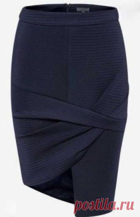 Моделирование оригинальной ассимметричной юбки — Сделай сам, идеи для творчества - DIY Ideas
