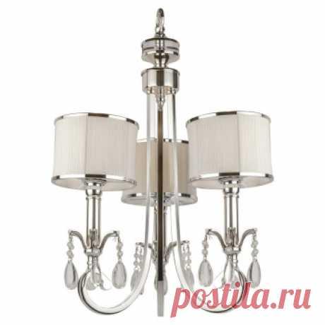 L'ARTE LUCE Roxy L00503 люстра 3 рожка. Дизайнерские люстры купить в Москве - необычные люстры, цена в каталоге интернет-магазина ForestGum
