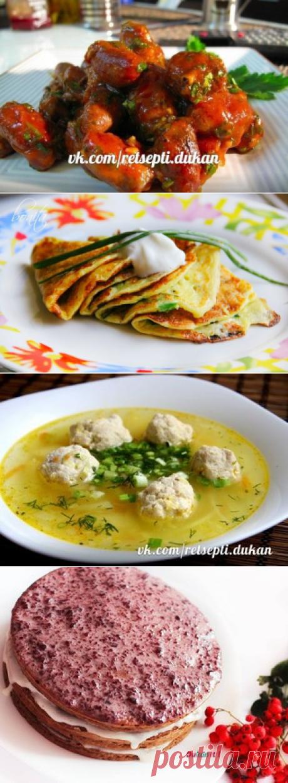 Recipes on a diet Dyukan | VK