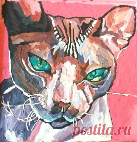 Портрет кота Марсика
