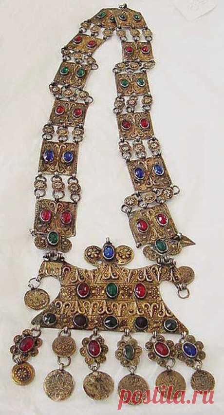 Ювелирные украшения с бирюзой XIX века - Ярмарка Мастеров - ручная работа, handmade