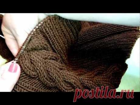 Расчет петель для вязания реглана сверху для детей до года