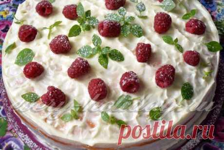 """Торт """"Сметанник"""", классический рецепт с фото пошагово"""