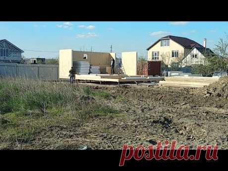 Строим дом из сип панелей. Стены и углы