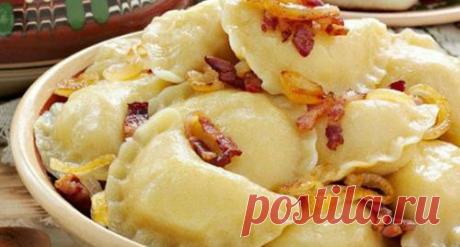Вареники с картошкой, которые не развариваются! Мы нашли идеальный рецепт и спешим поделиться им с вами!