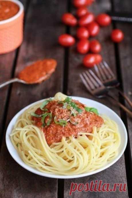 """Соус """"маринара"""" для спагетти в мультиварке"""