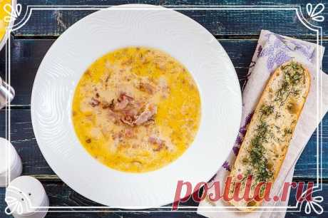 Постный крем-суп гороховый с крутонами (рецепт вегетарианский)   Суп будет постным, без мясных ингредиентов, но от этого он не станет менее сытным и вкусным.   Ингредиенты:  Показать полностью…