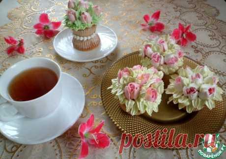 Сметанные кексы с курагой Кулинарный рецепт