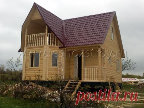 Дом из бруса 7 х 7 м. (№135)