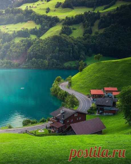Лунгерн, Швейцария