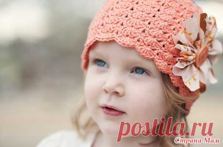 Hat of Little Sister by Linda Permann. - We knit together online - the Country of Mothers