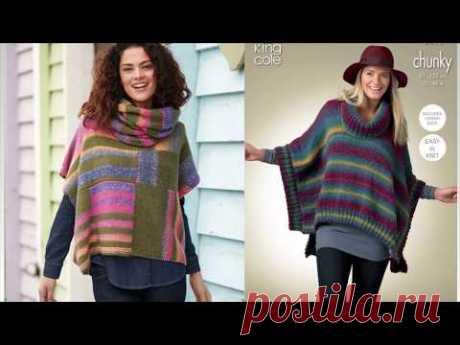 Pletena moda.Креативная полоска(Crochet & knitting)