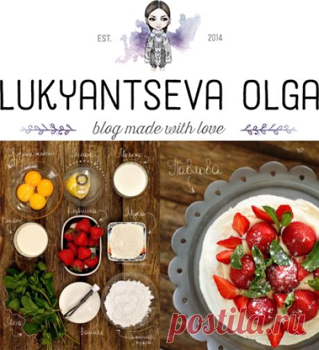 Торт Павлова - простой пошаговый рецепт с фото.