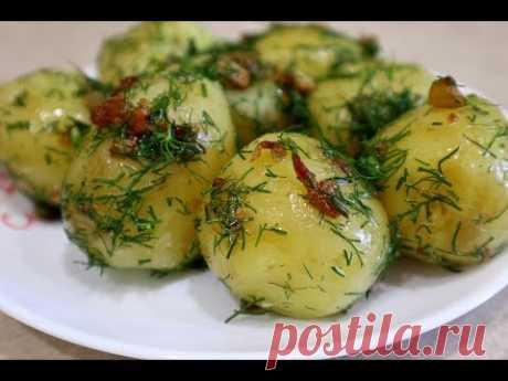 Любимый рецепт молодого картофеля — Кулинарная книга - рецепты с фото