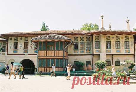 Ханский дворец в Бахчисарае. Часть 2.