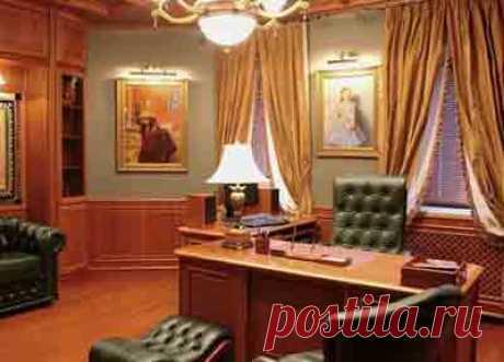Мебель в дизайне интерьера кабинета