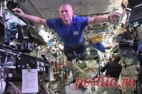 Los cosmonautas se han helado en la Estación Espacial Internacional