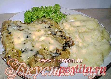 Рыба запеченная в фольге в духовке - Вкусная еда