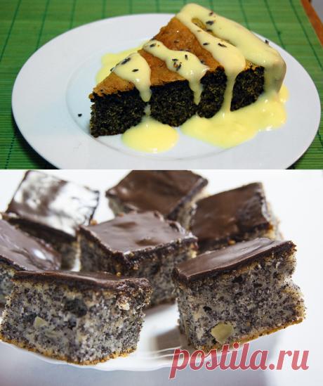 Бесподобный маковый пирог без муки и лишних слов. Не пирог даже, а воздушно-сочный деликатес.