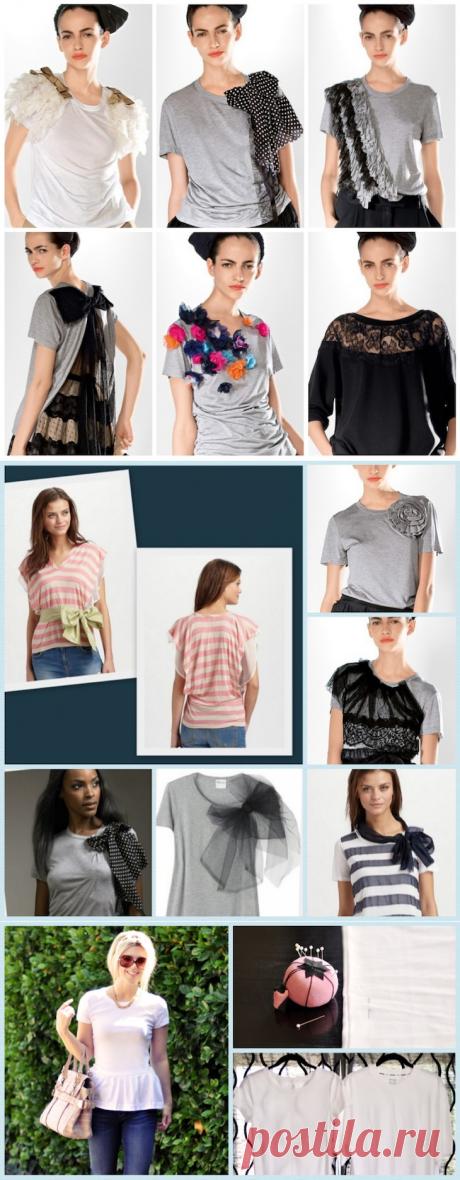 Новая жизнь старых футболок: 50 идей