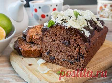The Prunes in Chocolate cake on the Tasty Blog How many different cakes I baked for the conscious and irresponsible culinary life, it is difficult to count. But for some reason never came to my mind to connect chocolate keksovy dough to prunes. Prunes in chocolate very much are pleasant to me. Let now there will be such combination and in cake \ud83d\ude42 If you do not love prunes – …
