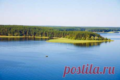 Озеро Селигер, Россия. | Города и страны