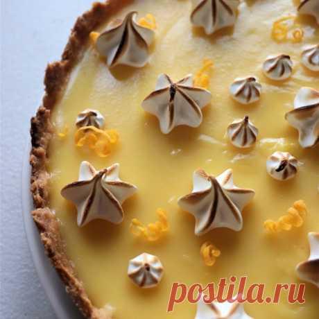 Классический лимонный тарт - пошаговый рецепт с фото