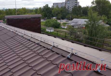 Молниезащита зданий и сооружений и частных домов