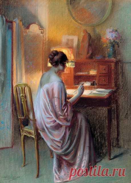 Что же такое будуар?... Delphin Enjolras (French, 1857-1945)... АукционноНюБудуарное... (часть-1)