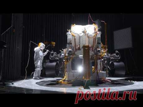 Shake, Rattle and Roll: Testing NASA's Mars 2020 Perseverance Rover - YouTube