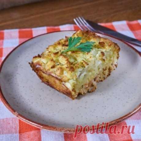 Запеканка с картофельным пюре и куриным фаршем - МирТесен