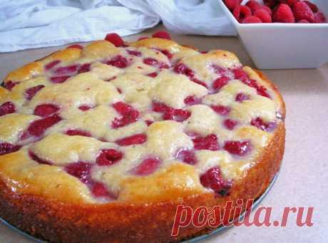 Рецепт легкого пирога на кефире с замороженными ягодами пошагово с фото | Кулинарные рецепты вкусных и полезных блюд Rerecept