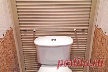 Как закрыть трубы в туалете и ванной комнате – необычные способы