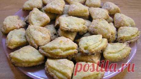 Творожное печенье Поцелуйчики - Видео рецепт