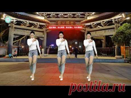 网络火爆神曲广场舞《谁DJ》喜欢跳舞的看过来哦 ⚡ Xiao Qing  ⚡